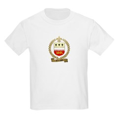 THERIAULT Family Crest Kids T-Shirt