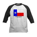 MMCA TX Flag Kids Baseball Jersey