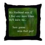 MY HUSBAND Throw Pillow