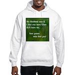 MY HUSBAND Hooded Sweatshirt