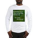 MY HUSBAND Long Sleeve T-Shirt