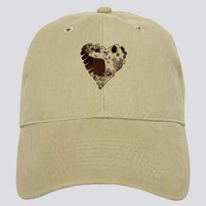 Paint Horse Heart Cap