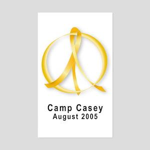 Camp Casey Aug 2005 Rectangle Sticker