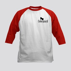 Colorguard Kids Baseball Jersey