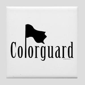 Colorguard Tile Coaster