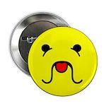 """Sourmug Smiley 2.25"""" Button"""