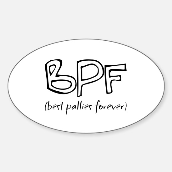 Pallies Oval Decal