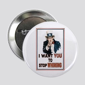 "STOP WHINING 2.25"" Button"