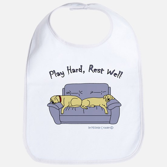 lab gifts - yellow/yellow Bib