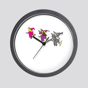 3 witches Wall Clock