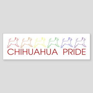 Chihuahua Pride Bumper Sticker