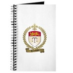 THIBODEAU Family Crest Journal