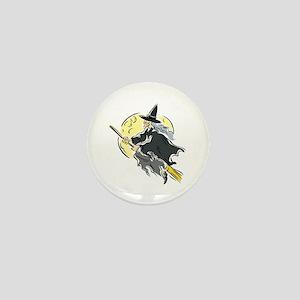 Across the Moon Mini Button