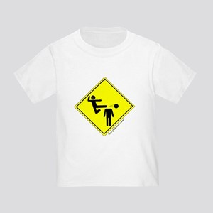 Kick in the Head Zone Toddler T-Shirt