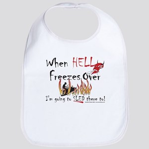 Hell Freezes With the Devil Bib