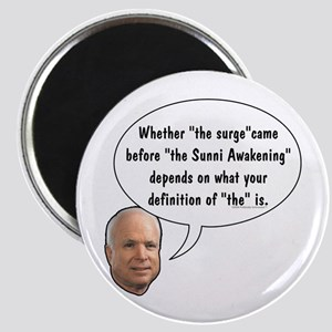 """McCain on """"The"""" Surge Magnet"""