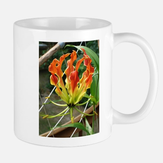 Unique Red yellow flames Mug