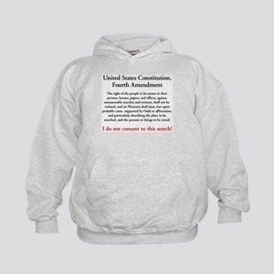 Fourth Amendment Kids Hoodie