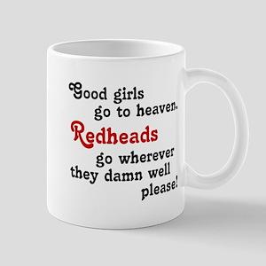 Goodgirls & Redheads Mug
