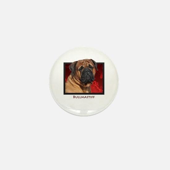 Bullmastiff Mini Button