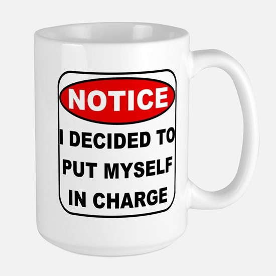 Put Myself in Charge Large Mug