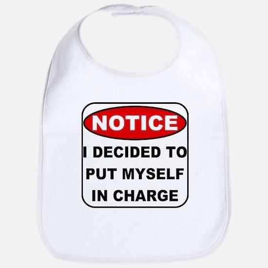 Put Myself in Charge Bib