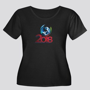 Russia World Cup 2018 Plus Size T-Shirt