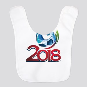 Russia World Cup 2018 Polyester Baby Bib