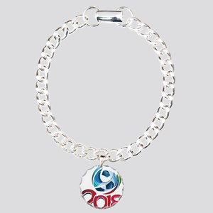 Russia World Cup 2018 Charm Bracelet, One Charm