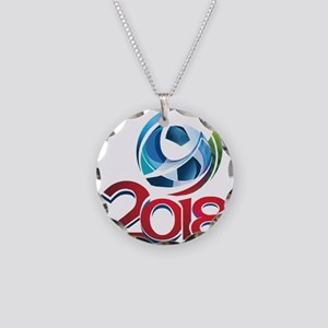 Russia World Cup 2018 Necklace Circle Charm
