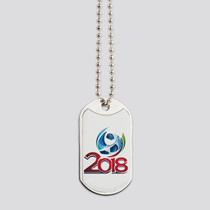Russia World Cup 2018 Dog Tags