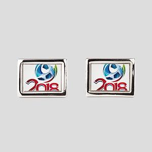 Russia World Cup 2018 Rectangular Cufflinks