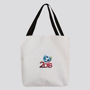 Russia World Cup 2018 Polyester Tote Bag