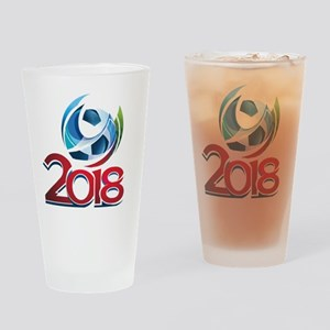 Russia World Cup 2018 Drinking Glass