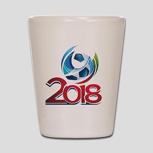 Russia World Cup 2018 Shot Glass