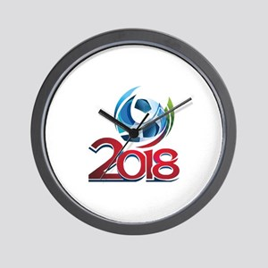 Russia World Cup 2018 Wall Clock