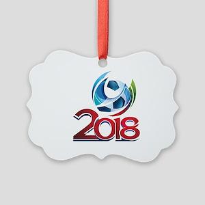Russia World Cup 2018 Picture Ornament