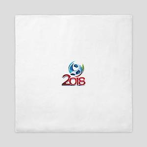 Russia World Cup 2018 Queen Duvet