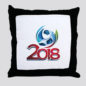 Russia World Cup 2018 Throw Pillow