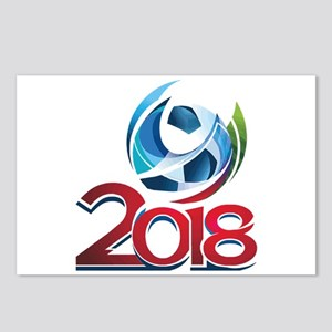Russia World Cup 2018 Postcards (Package of 8)
