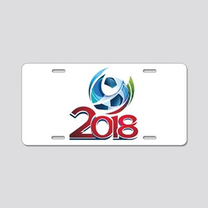 Russia World Cup 2018 Aluminum License Plate