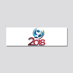 Russia World Cup 2018 Car Magnet 10 x 3