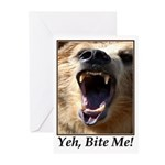 Yeh, Bite Me Greeting Cards (Pk of 20)