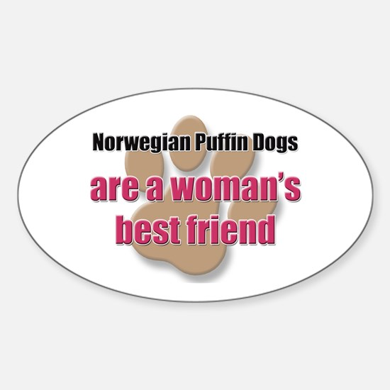 Norwegian Puffin Dogs woman's best friend Decal