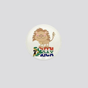 South Africa Lion Mini Button