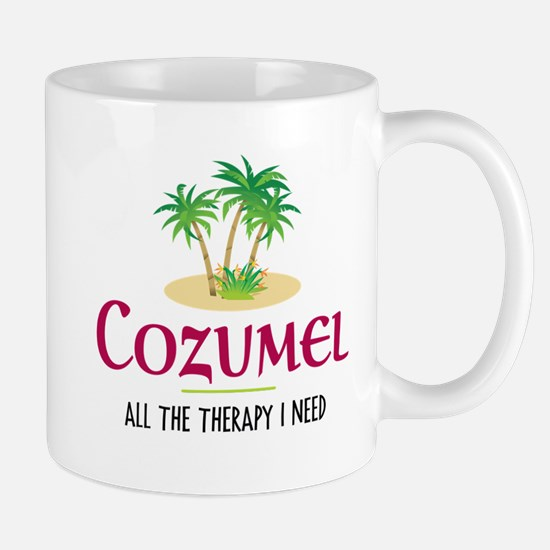 Cozumel Therapy - Mug