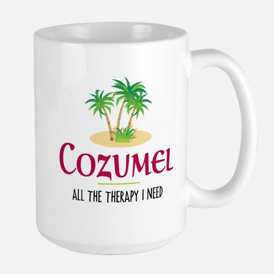 Cozumel Therapy - Large Mug