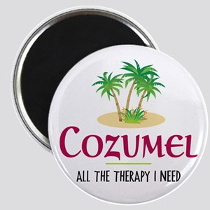 Cozumel Therapy - Magnet