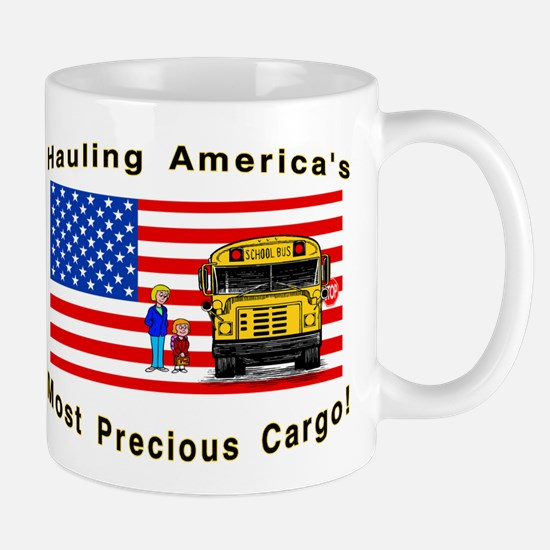 Cute School bus driver Mug