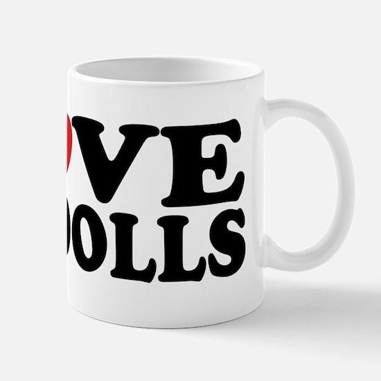 I Love Ragdoll Cats Mug